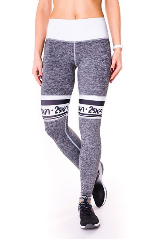 Fitnessové legíny FIT DIRECTION grey