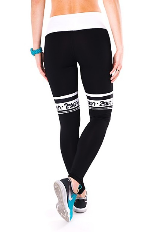 Fitnessové legíny FIT DIRECTION black